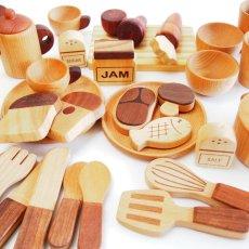 画像3: 木製 ままごと いっぱいセット全26アイテム おままごとセット (3)