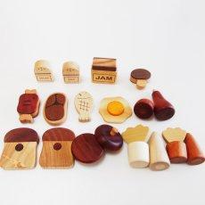 画像7: 木製 ままごと いっぱいセット全26アイテム おままごとセット (7)
