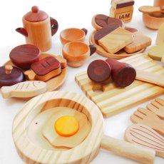 画像9: 木製 ままごと いっぱいセット全26アイテム おままごとセット (9)