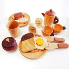 画像10: 木製 ままごと いっぱいセット全26アイテム おままごとセット (10)