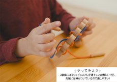 画像3: 知育玩具 紐通し クジャク 知育おもちゃ 3歳 4歳 ひも通し おもちゃ (3)