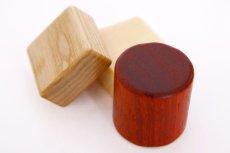 画像10: [アウトレット15%OFF] 積み木 いっぱいセット2段66ピース 名前入り木箱つき 遊び方ガイドつき (10)