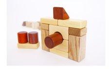 画像13: [アウトレット15%OFF] 積み木 いっぱいセット2段66ピース 名前入り木箱つき 遊び方ガイドつき (13)