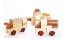 画像14: [アウトレット15%OFF] 積み木 いっぱいセット2段66ピース 名前入り木箱つき 遊び方ガイドつき (14)