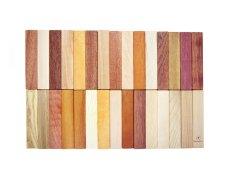画像6: 天然木のスティック 積み木 150ピース入り 木製 ドミノ 知育玩具 (6)