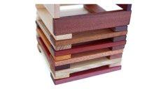 画像8: 天然木のスティック 積み木 150ピース入り 木製 ドミノ 知育玩具 (8)
