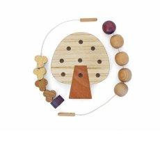 画像9: 知育玩具 3歳 おもちゃ ビーズ ひも通し遊び 木のおもちゃ 女の子 男の子 知育おもちゃ 指先 木製 パズル 知能 教材 インテリア 教育 保育園 幼稚園 託児室 キッズルーム (9)