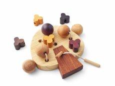 画像11: 知育玩具 3歳 おもちゃ ビーズ ひも通し遊び 木のおもちゃ 女の子 男の子 知育おもちゃ 指先 木製 パズル 知能 教材 インテリア 教育 保育園 幼稚園 託児室 キッズルーム (11)