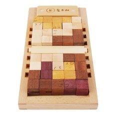 画像11: 木製キューブブロックパズル[名入れおもちゃ] (11)
