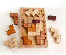 画像9: 木製キューブブロックパズル[名入れおもちゃ] (9)