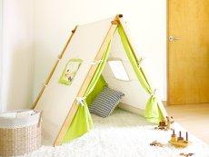 画像2: 子ども用 プレイテント ハンガーラック 今すぐできる!ぼくのわたしの部屋 (2)