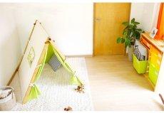 画像7: 子ども用 プレイテント ハンガーラック 今すぐできる!ぼくのわたしの部屋 (7)