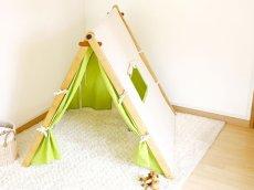 画像5: 子ども用 プレイテント ハンガーラック 今すぐできる!ぼくのわたしの部屋 (5)