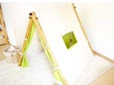 画像4: 子ども用 プレイテント ハンガーラック 今すぐできる!ぼくのわたしの部屋 (4)